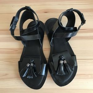 Gorgeous Handmade Leather Sandals - Size 7,5